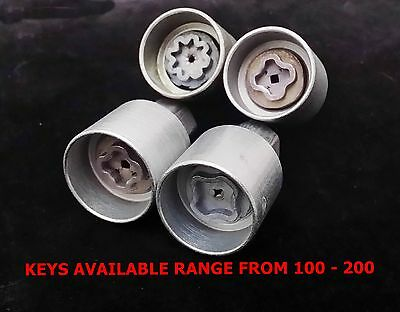 Vauxhall Corsa Locking Wheel Nut Key - All Available Genuine Gm Fast Delivery