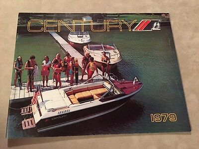 Century Boat~Boats~1979 Original Sales Brochure~Mint Condition~Arabian~180-200