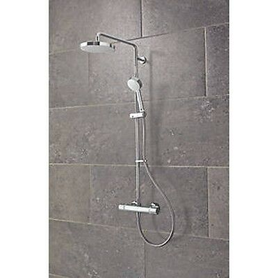 Mira Atom Erd Exposed Thermostatic Bar Mixer Shower Chrome