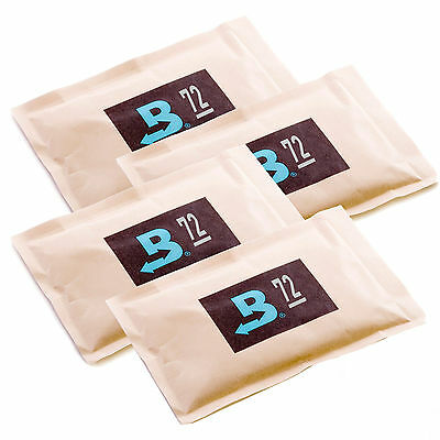 4 Boveda 72% 60 gram Humipacks Factory Fresh Canadian Buyers only!
