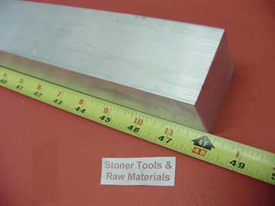 "2-1/4"" X 2-1/4"" ALUMINUM SQUARE 6061 SOLID BAR 48"" long T6511 Mill Stock 2.25"
