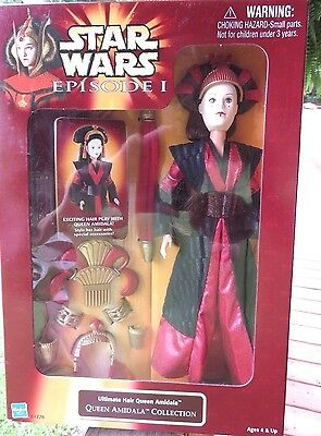 Royal Elegance Queen Amidala Star Wars Collectable Barbie Doll 1998 NRFB, SEALED