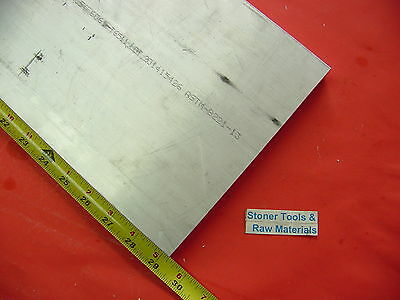 "1/2"" X 8"" ALUMINUM 6061 FLAT BAR 29.25"" long T6511 .500"" SOLID PLATE Mill Stock"