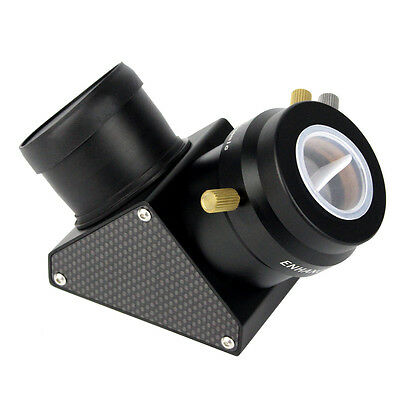"2"" Carbon Fiber Plates Dielectric Diagonal Mirror with 2""~1.25"" Eyepiece Adapter"