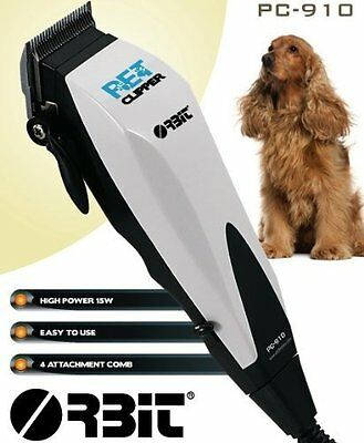 Pet Dog Cat Clipper Grooming Trimmer Animal Hair Professional Cutter Trendy 4522