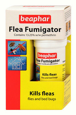 Beaphar Flea Fumigator Fumigation Kill Fleas Bug Bedbug Fly Ant Cockroach Trendy