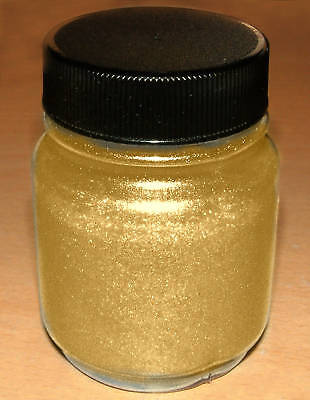 Gold Pearl Pigment Powder 110G 4Oz Custom Paint Effect Highest Grade Premium