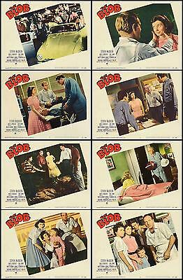 STEVE McQUEEN THE BLOB Complete Set Of 8 Individual 8x10 LC Prints 1958