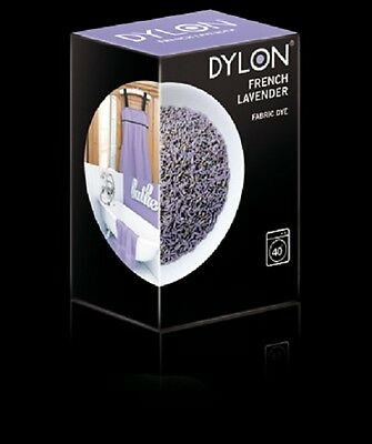 Dylon FRENCH LAVENDER MACHINE DYE 200g Fabric Cotton Linen Clothes Trendy
