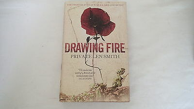 WW1 British Drawing Fire Private Len Smith Reference Book