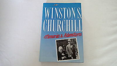 WW2 British Winston S Churchill Memories and Adventures Reference Book