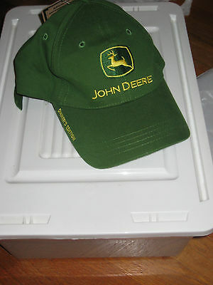 """John Deere Adjustable Hat """"Nothing Runs Like a Deere""""   New with tags"""