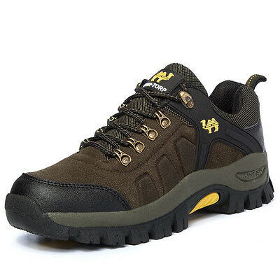 Men's Outdoor Hiking Boots Sports Athletic Running Shoes Climbing Mountain Trail