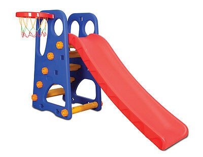 Jade Slide with Basketball 2-in-1 Activity Centre for Ages 1+