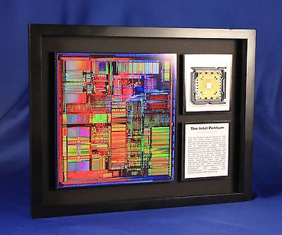 The Intel Pentium - A New Beginning (Artwork,ChipScapes,Microprocessor)