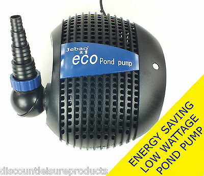 Jebao FTP Eco Energy Saving Low Wattage Dirty Water Pond Filter Pump 8500