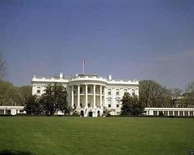 South Portico of the White House during Kennedy Administration New 8x10 Photo