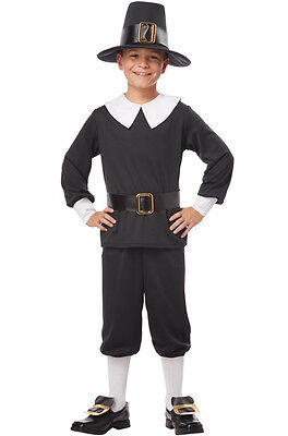 Thanksgiving Pilgrim Boy Colonial Child Costume