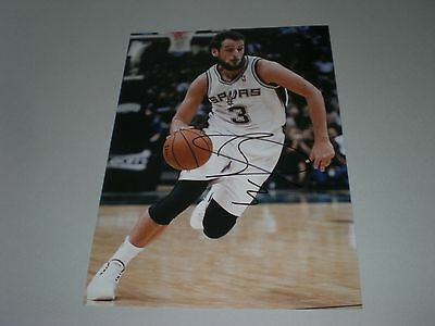 Andrea Bargnani Basketball NBA signed signiert Autogramm a. 20x28 Foto in person
