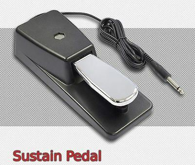 Heavy Duty KEYBOARD SUSTAIN PEDAL suitable for Yamaha Casio etc