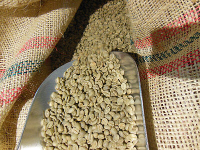 5 lbs Colombian Valle del Cauca Organic RFA Cert. Un-Roasted Green Coffee Beans