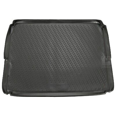 Peugeot 3008 10-16 (Lowered Boot) Rubber Liner Fitted Black Floor Mat Protector