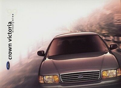 1999 Ford Crown Victoria and Crown Victoria LX  Dealer Sales Brochure - Mint!