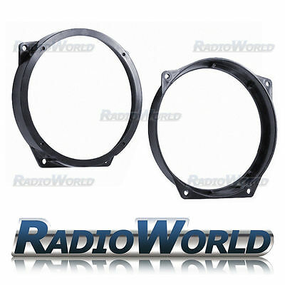 "Mini R50 R52 R53 Front Door Speaker Adapters Rings Spacers 165mm 6.5"" SAK-1207"