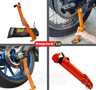 Snapjack V2 Portable Motorcycle Jack / Lift / Stand Ideal For Chain Cleaning Etc