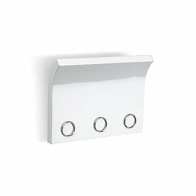 Umbra Magnetter Key Panel & Letter Holder HIGH GLOSS WHITE Wall-Mount Organizer