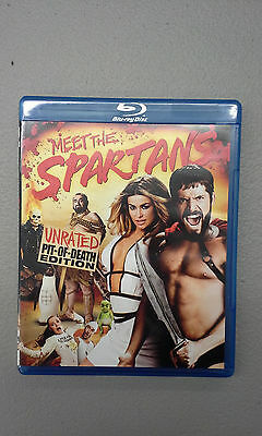 Meet the Spartans (Blu-ray Disc, 2008, Unrated Pit of Death Edition), Used