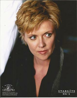 Stargate Amanda Tapping as Carter Looking Serious 8 x 10 Photo