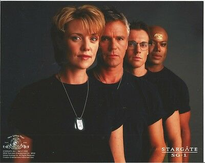 Stargate Carter, O'Neill, Jackson and Teal'c 8 x 10 Photo