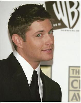 Supernatural Jensen Ackles in Suit with Side Smile 8 x 10 Photo