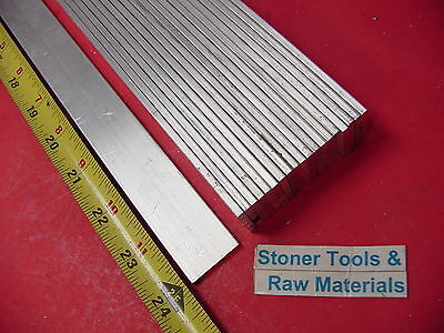 "20 Pieces 1/8"" X 1"" ALUMINUM FLAT BAR 24"" long 6061 T6511 .125"" New Mill Stock"