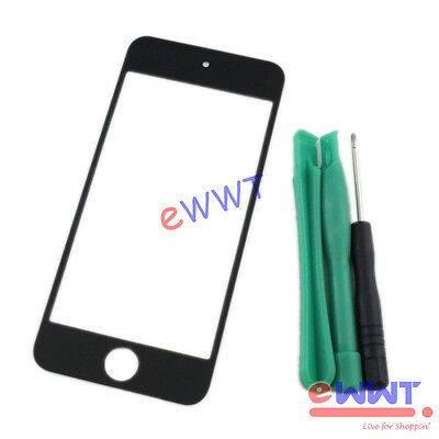 Replacement Black Front Screen Glass Lens +Tool for iPod Touch 5th Gen 5 ZVGS260