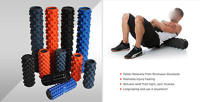 Pu Physio Grid Trigger Point Foam Roller Yoga Pilat - Multi-Size - Multi-Colour