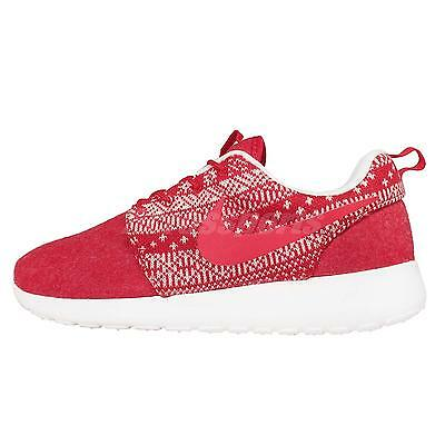 Wmns Nike Roshe One Winter Christmas Sweater Red Womens Running Shoes 685286-661