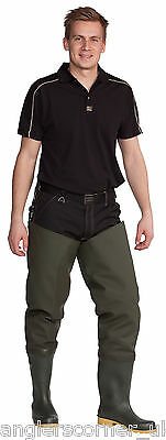 Ocean Heavy Studded Thigh Waders 7-61 / Deluxe 700g PVC