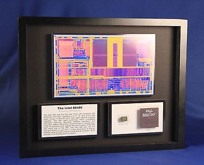 The Intel 80486 - Bring It All Together (A80486,ChipScapes,Microprocessor,Chip)