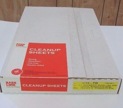 "Base Line Clean Up Sheets 1015PB 10 3/16"" x 15"""