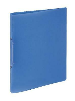 Ringbuch A4 2-Ring 13mm PP Lucy Colours blau