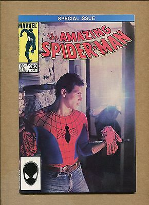 Amazing Spider-Man #262 - 1st Photo Cover - 1985 (Grade 9.2) WH