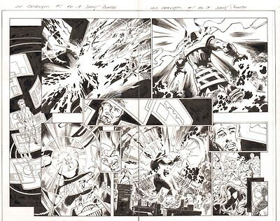 Cataclysm: The Ultimates' Last Stand #1 DPS - Galactus - 2013 art by Mark Bagley