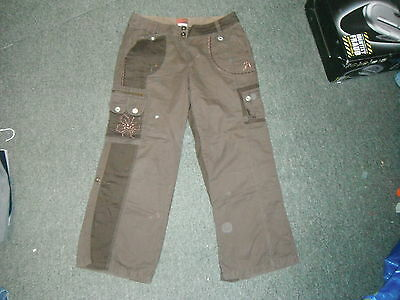 """Next Loose Jeans Waist 35"""" Leg 29"""" Faded Brown Mens Jeans"""