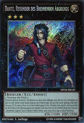 YU-GI-OH MEGA TIN 2015 - MP15-DE - SECRET RARE - 1st Edition - GERMAN - Top mint
