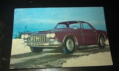1960  LANCIA   - NESTLES Chocolates Australian Trade Swap Card