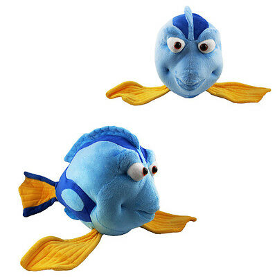 Cartoon Finding Nemo 40cm Soft Plush Dory Fish Doll Toy Blue L