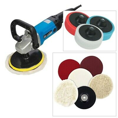 SILVERLINE 1200W 180mm 3in1 SANDER BUFFER POLISHER + 11PC SANDING POLISHING KIT