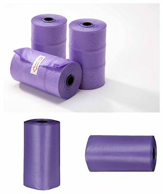 Dog Poo Bags Lavender Scented On A Roll | Dog Waste Poop Bags